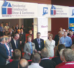 Governor Jodi Rell at the Residential Construction Show